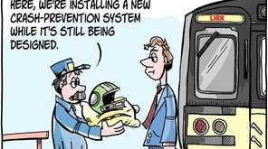 Matt Bodkin cartoon about installation of crash-prevention technology