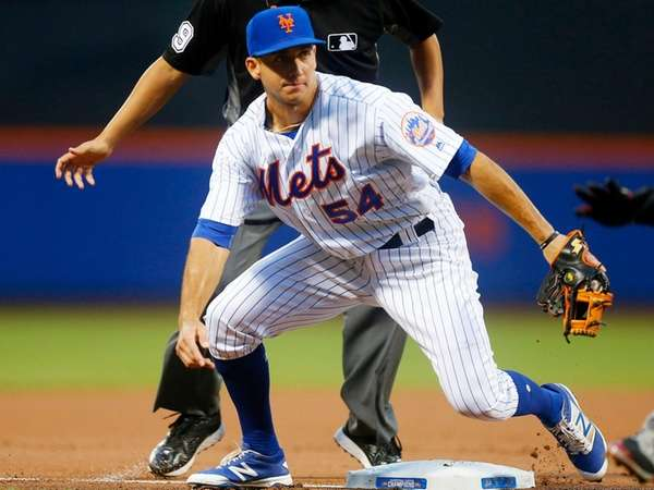 T.J. Rivera #54 of the New York Mets