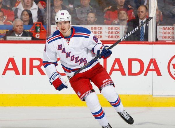 Pavel Buchnevich #89 of the New York Rangers
