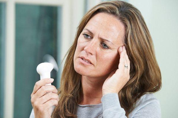 Hot flashes often accompany menopause.