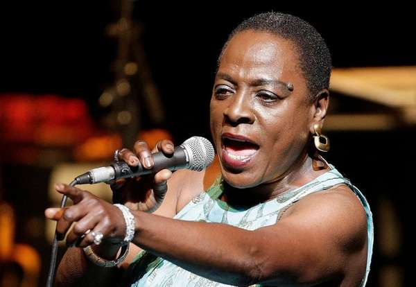 Sharon Jones perfoming on stage during the Jazz