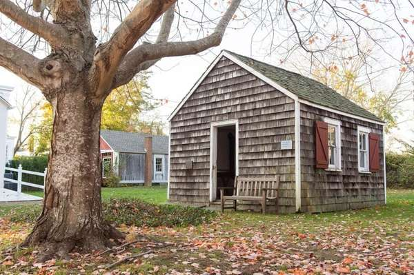 The Red Creek Schoolhouse, believed to be the