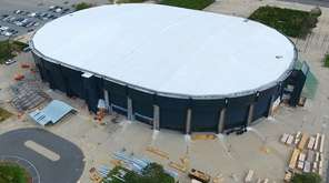 The renovation of the Nassau Coliseum is expected