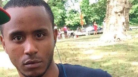 Erickson Brito, 21, was fatally shot by two