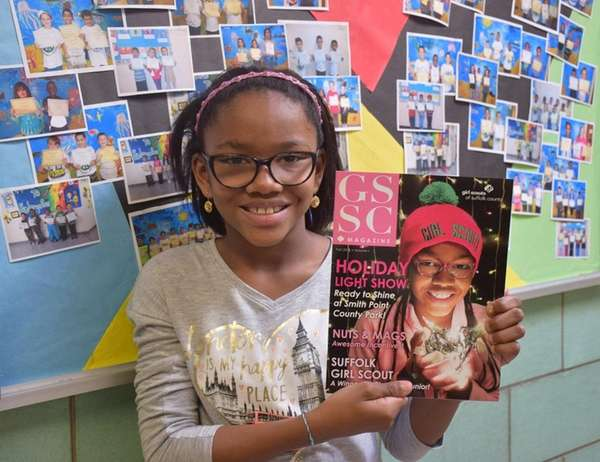 Olivia Phillips, 9, sold more than 3,000 boxes