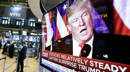 Markets rebounded soon after Donald Trump's remarks in