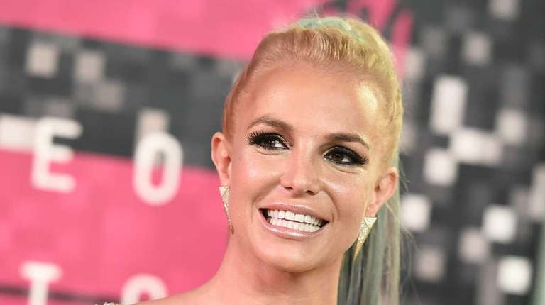Britney Spears arrives at the MTV Video Music
