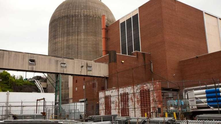 Indian Point Nuclear Power Plant in Buchanan, May