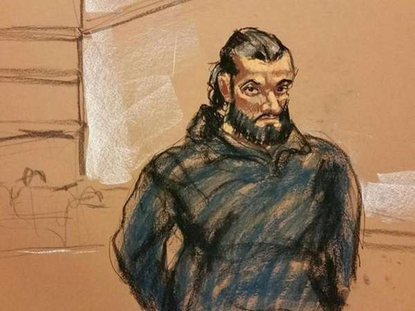 Mohamed Rafik Naji was charged in federal court