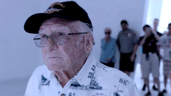 Don Stratton survived the sinking of the USS