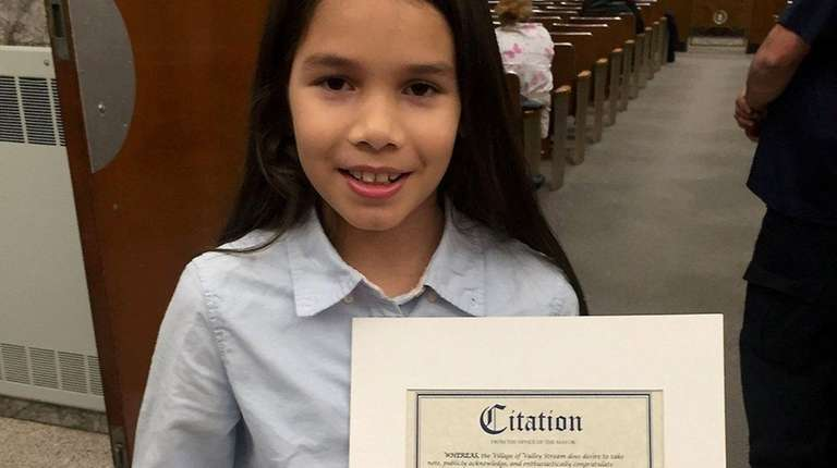 Fifth-grader Diana Loveras, 10, was her 'cool and