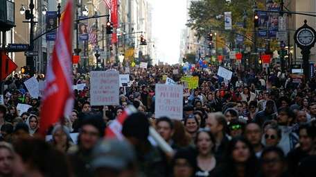 A Women's March in NYC is planned for