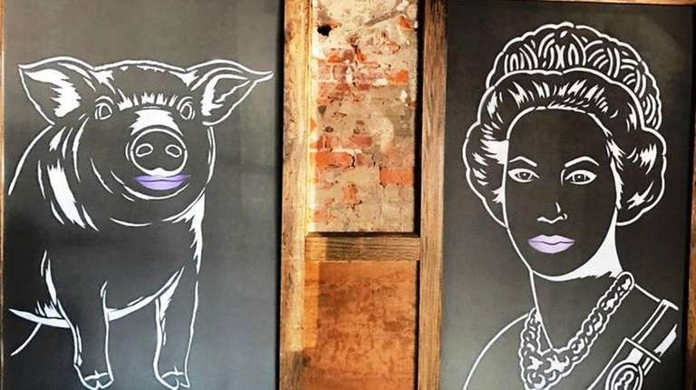 The Pig & Queen is a new barbecue