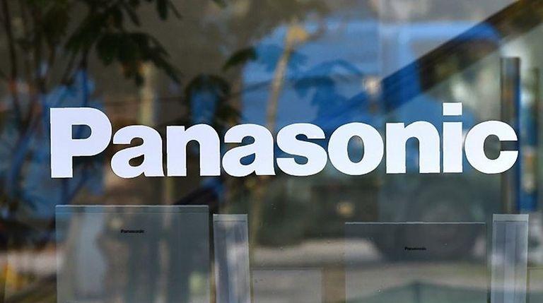 The logo of Japan's Panasonic Corp. is displayed