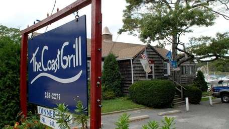The exterior of The Coast Grill in Southampton.