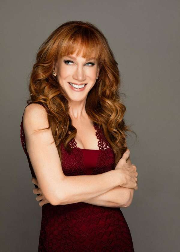 Comedian Kathy Griffin will sign her new book,