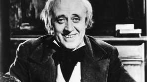 Alastair Sim as Ebenezer Scrooge in 1951's