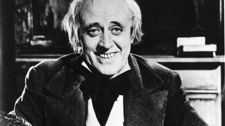 Alastair Sim as Ebenezer Scrooge in 1951's