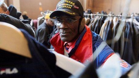 Hempstead resident Bernard Highsmith, 67, a Vietnam veteran