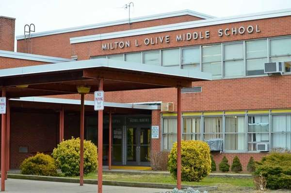 The Milton L. Olive Middle School, at 140