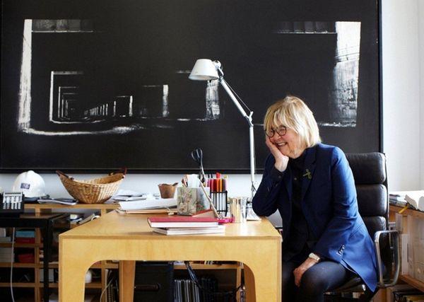 Diana Balmori, an influential landscape and urban designer.