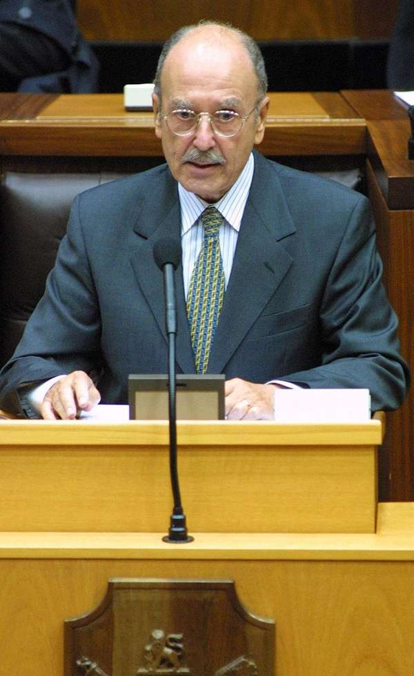 Former Greek President Constantine Stephanopoulo