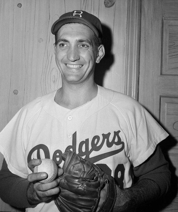 Brooklyn Dodgers pitcher Ralph Branca is shown Sept.