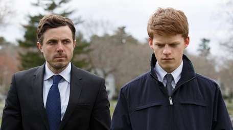 Casey Affleck, left, and Lucas Hedges in
