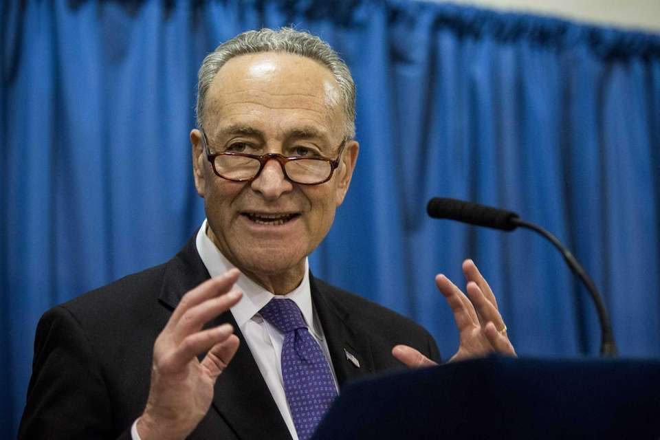 Schumer basically invented the Sunday news conference, notorious