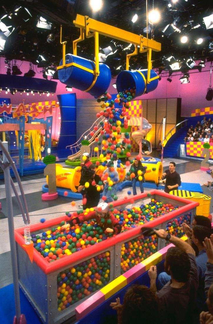 The Ball Pit on the obstacle course of