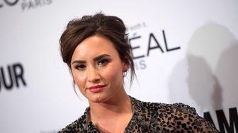 Recording artist Demi Lovato attends the Glamour Women
