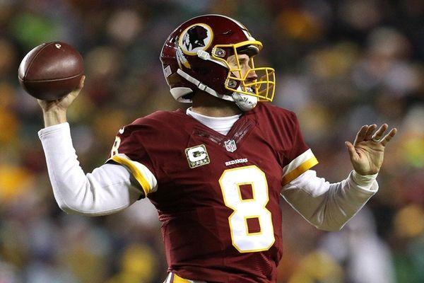 Quarterback Kirk Cousins of the Washington Redskins