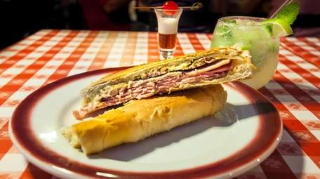 The Cuban sandwich is a winner at Rincon