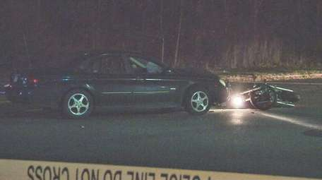 Suffolk County Police Fourth Squad detectives are investigating