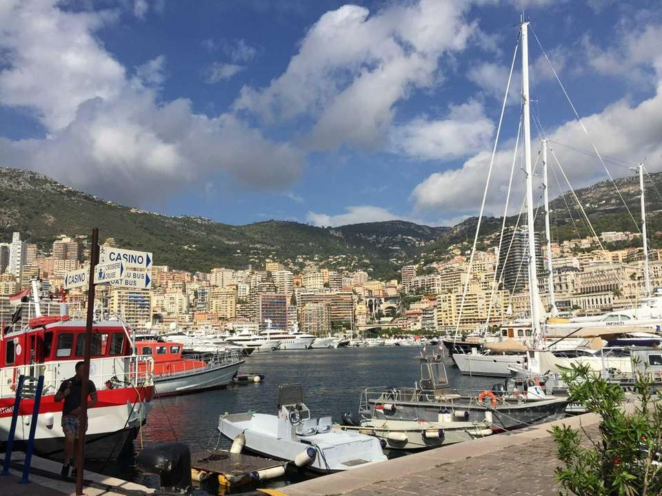 Cruising the riviera on a windstar cruise sept.