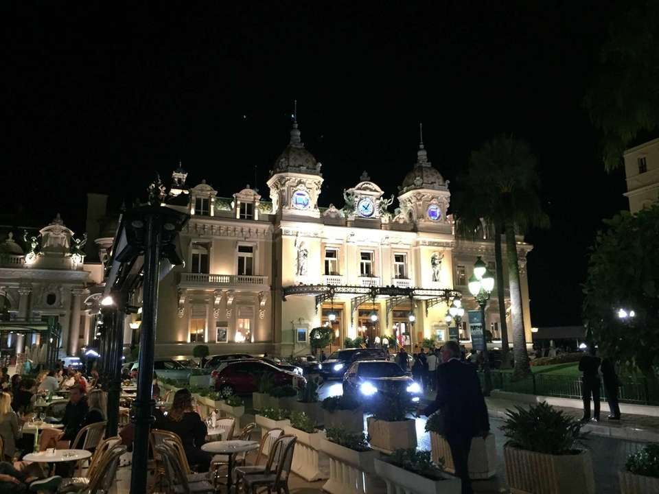 The grand casino in Monte Carlo sept 2016.