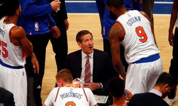 Head coach Jeff Hornacek of the New York
