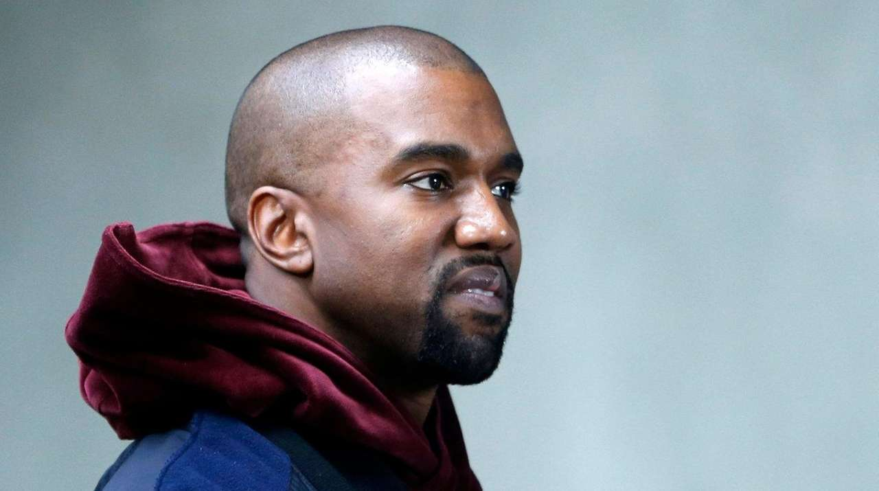 Rapper Kanye West reportedly spent Thanksgiving Day in