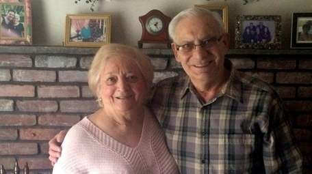 Adeline and Anthony Cuoco of Bellmore celebrated their