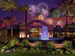 Kids staying at the Fairmont Scottsdale Princess in