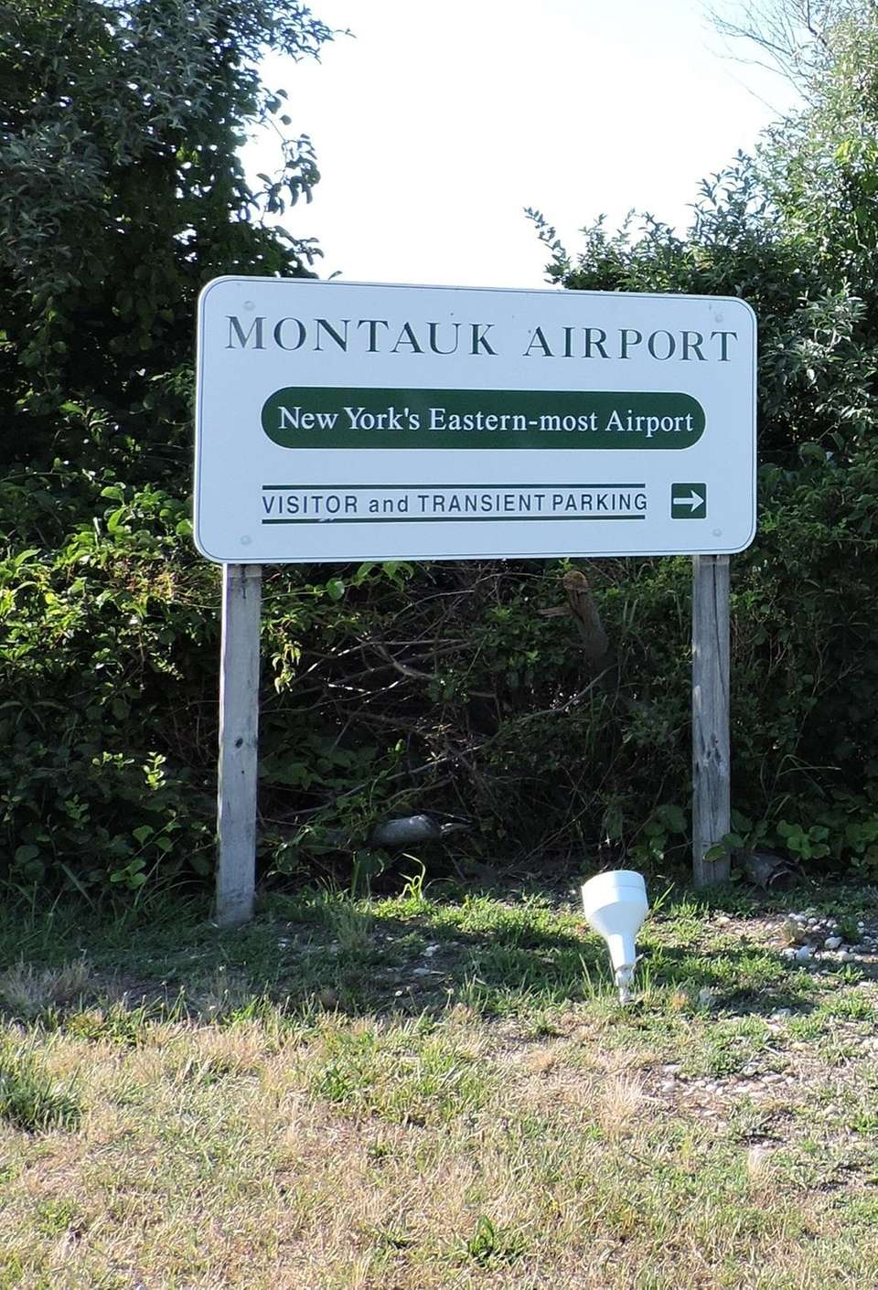 Montauk Airport (KMTP) is the easternmost airport in