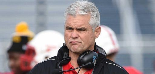 Freeport head coach Russ Cellan looks on against
