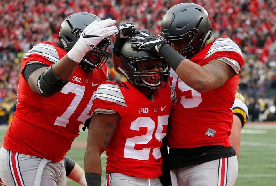 Weber missed Ohio State's 49-21 win over Indiana