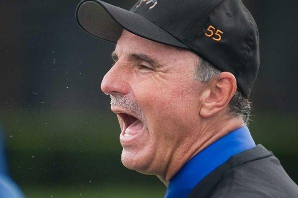 Roosevelt head coach Joe Vito on Sept. 25,