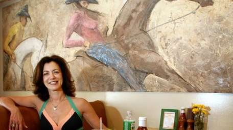 Nancy Singer, manager of Turtle Crossing, an eat