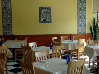 Interior of Wild Fig Mediterranean Grill in Glen