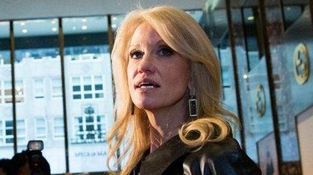 NEW YORK, NY - NOVEMBER 21: Kellyanne Conway,