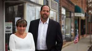 Linda Henninger, civic association vice president, and Tony