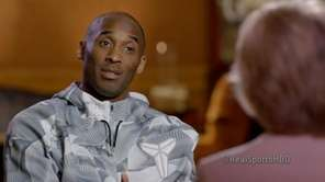 Kobe Bryant talks with Andrea Kremer about his