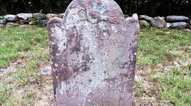 The final place of Mary Fithian Talmage Hedges,